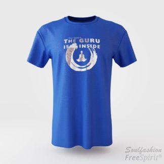 The guru is inside - Soulfashion - Free Spirit - Shirt - Herren - Silber - Yellow