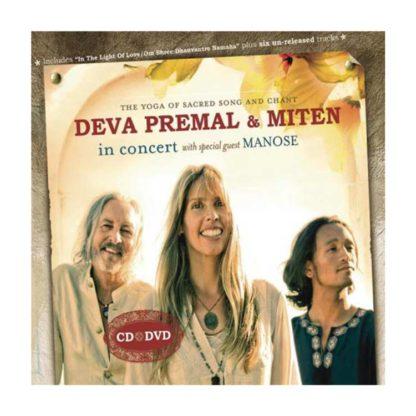 CD u DVD Deva Premal Miten In Concert