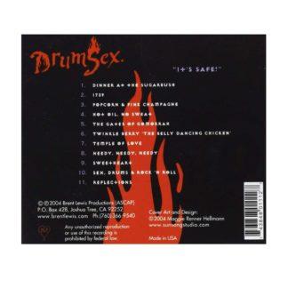 CD Drumsex Rueckseite Lewis Brent