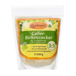 Birkengold kristallin Gelierzucker