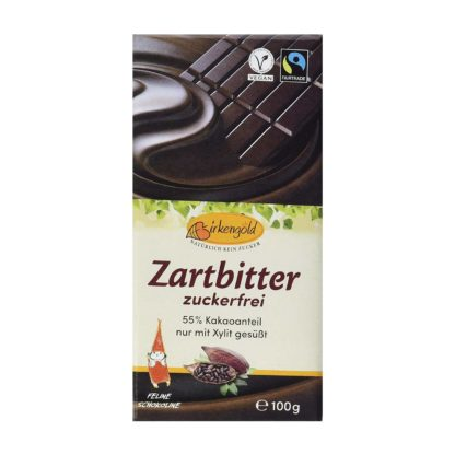 Birkengold Schokolade Zartbitter