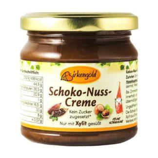 Birkengold Schoko Nuss Creme