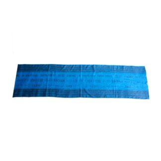 Schal Straight Blau lang