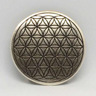 Guertelschnalle BdL DM 7,5cm Silber