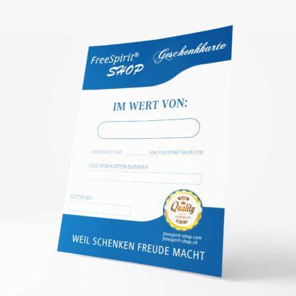 FreeSpirit Shop - Geschenk Karte - Gutschein
